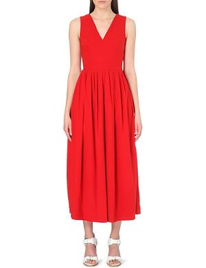 PREEN Carine stretch-crepe dress