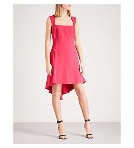 ANTONIO BERARDI Marcia sleeveless crepe dress (Bright+pink