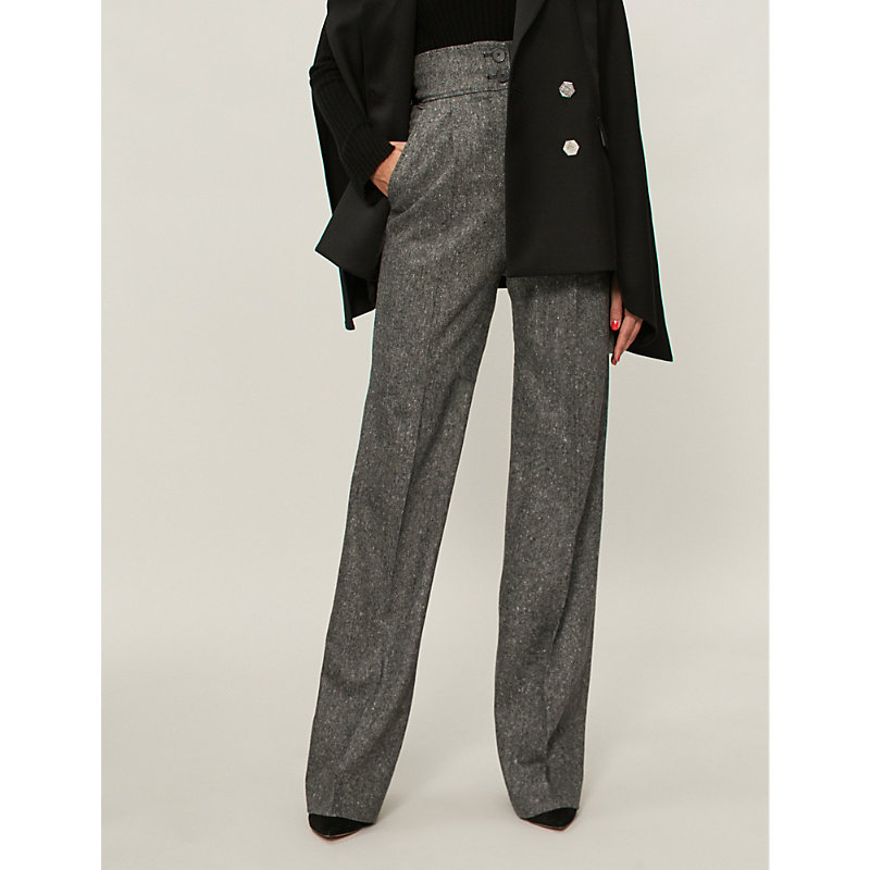 ANTONIO BERARDI Nazzareno straight wool pants
