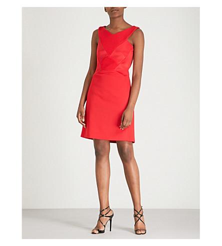 vestido Rojo Novella crepé mediano Mini ANTONIO BERARDI wxZnU7qC