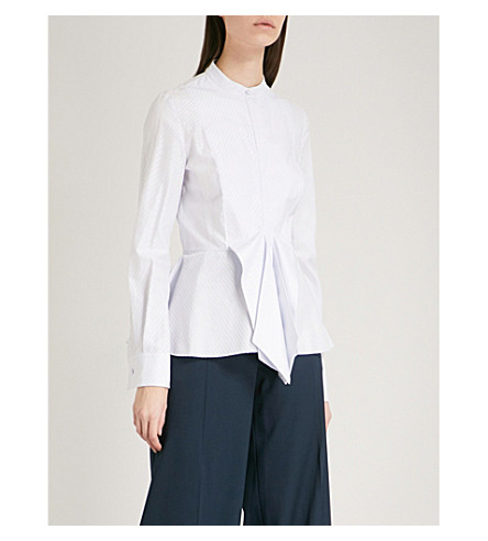 ANTONIO BERARDI Moonstone cotton-blend shirt (Azzurro