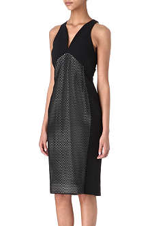 ANTONIO BERARDI Perforated mesh dress