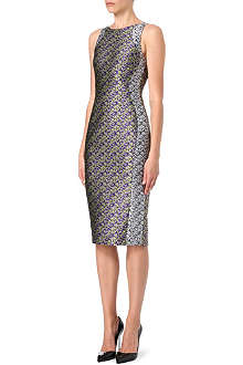 ANTONIO BERARDI Floral jacquard dress