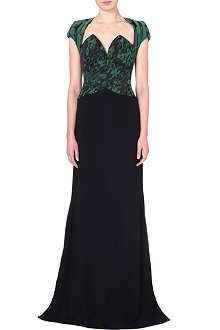 ANTONIO BERARDI Structured bodice evening gown
