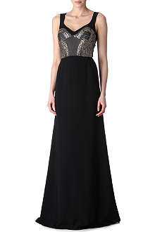 ANTONIO BERARDI Jewel-embellished gown