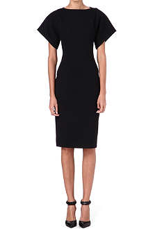 ANTONIO BERARDI Wide-sleeved woven dress
