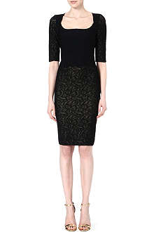 ANTONIO BERARDI Square neck dress
