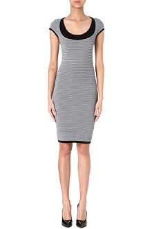 ANTONIO BERARDI Houndstooth knit dress