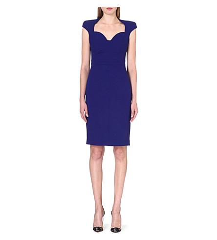ANTONIO BERARDI Fitted dress (Blue