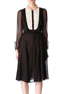 VALENTINO Bib-front dress