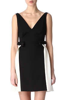 VALENTINO Contrast bow dress