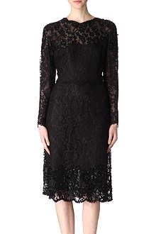 VALENTINO Embellished lace dress