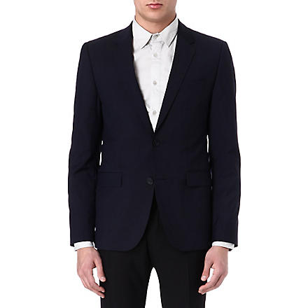 HUGO AerinS single-breasted jacket (Navy