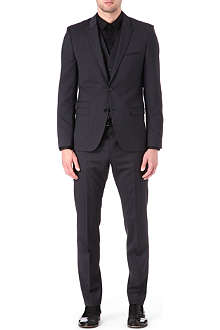 HUGO Aldur/Weyll/Hux three-piece wool-blend suit