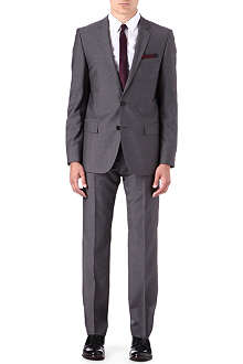 HUGO Amaro/Heise wool-blend suit