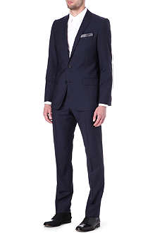 HUGO Single-breasted wool-mohair suit