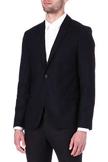 HUGO BOSS Basketweave suit jacket
