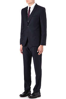 HUGO Arill/Wilm/Heven birdseye three-piece suit