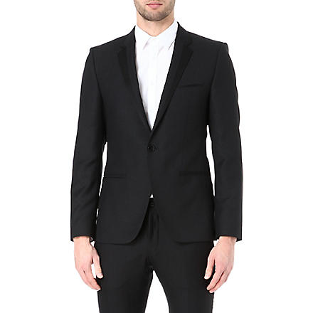 HUGO Askell wool-blend blazer (Black