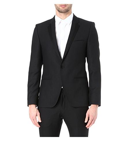 HUGO Askell wool-blend blazer (Black