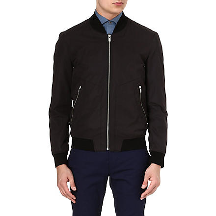 HUGO Bomber jacket (Black
