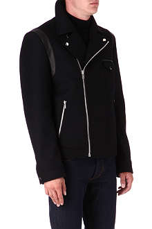 HUGO Asymmetric biker jacket