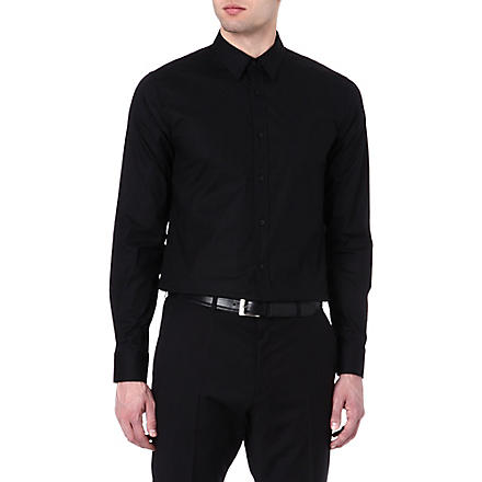 HUGO Elisha slim-fit shirt (Black