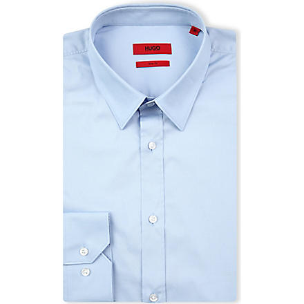 HUGO Elisha slim-fit shirt (Blue