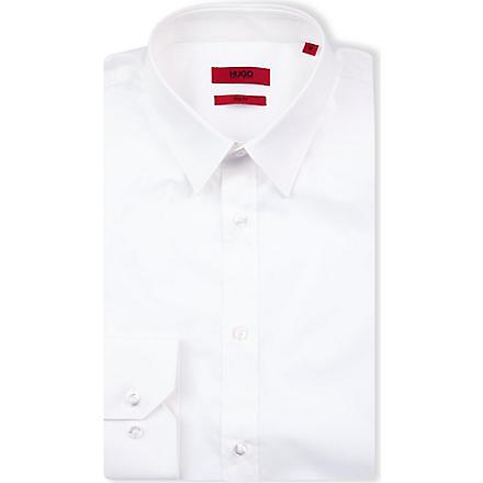 HUGO Elisha slim-fit shirt (White