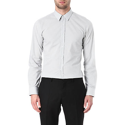 HUGO Elisha cotton shirt (White