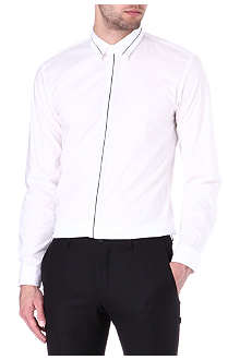 HUGO BOSS Elistor slim-fit contrast trim shirt