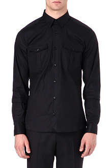 HUGO Two pocket epaulette shirt