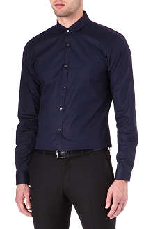 HUGO Enco penny collar shirt