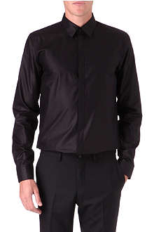HUGO Slim-fit sateen shirt