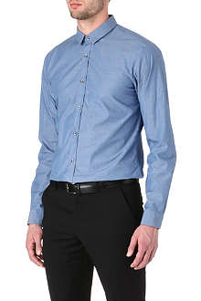 HUGO Eros slim-fit single-cuff shirt