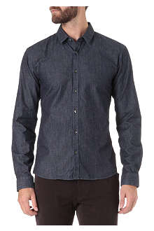 HUGO Slim-fit denim shirt