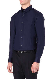 HUGO Slim-fit seamed shirt