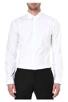 HUGO Stretch-cotton slim-fit shirt