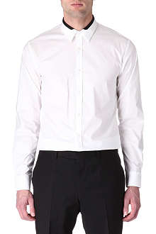 HUGO Etoni slim-fit single-cuff shirt
