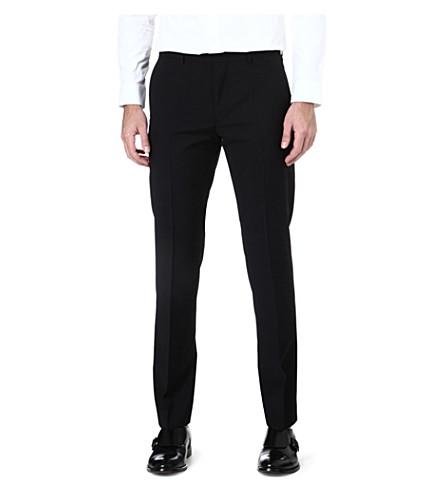 HUGO Hamen slim-fit trousers (Black