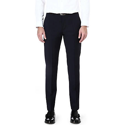 HUGO Hamen slim-fit trousers (Navy