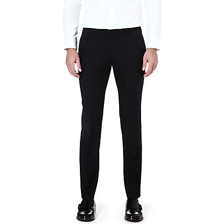 HUGO Heibo slim-fitting trousers (Black