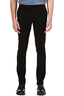 HUGO Slim-fit stretch-cotton trousers
