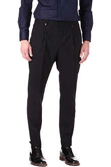 HUGO Hilson tapered trousers