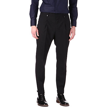 HUGO Hilson tapered trousers (Black