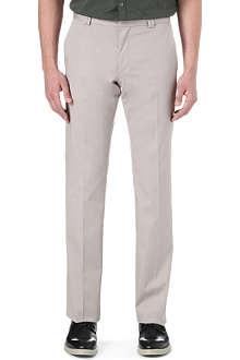 HUGO Himmer stretch-cotton trousers