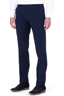 HUGO BOSS Stretch cotton trousers