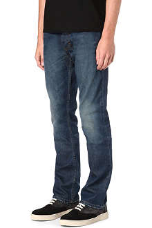 HUGO Regular blue wash jeans