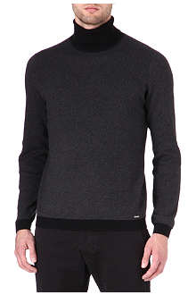 HUGO Sanel roll-neck jumper