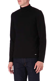 HUGO BOSS Roll-neck jumper